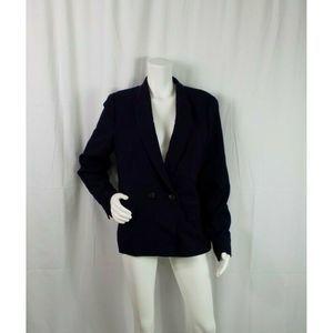 J Crew Blazer Size 16 Single Button Lined Pockets